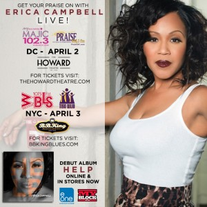 [Erica Campbell of Mary Mary]